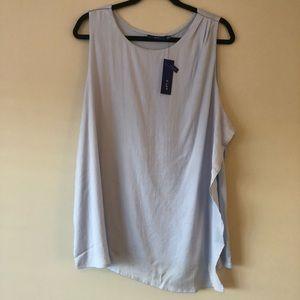 Apt. 9 light blue sleeveless tank top